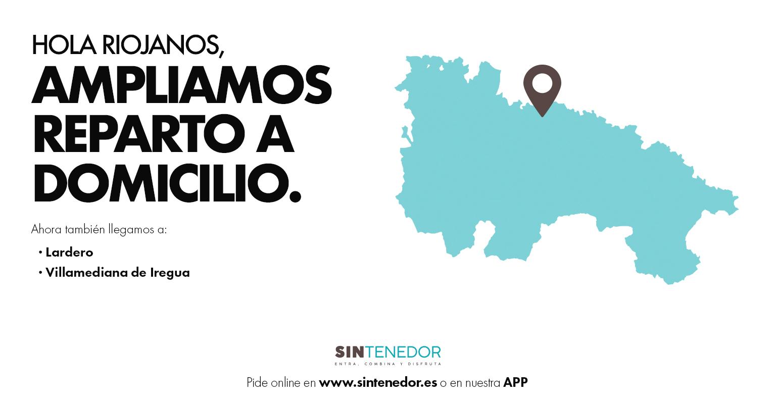 Reparto a domicilio en Logroño