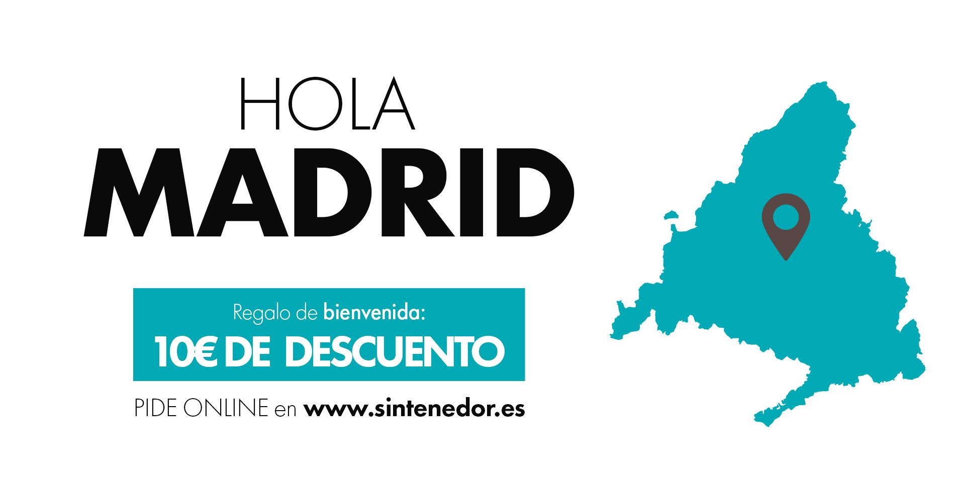 Comida a domicilio Madrid